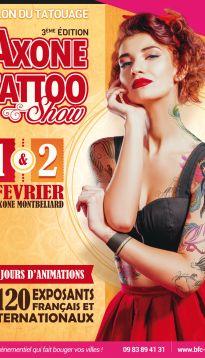 Billetterie - Axone Tattoo Show 3