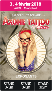 Exposants - Axone Tattoo Show