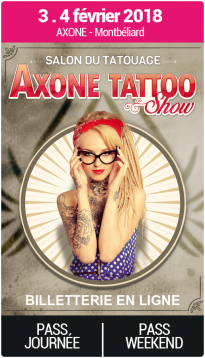 Billetterie - Salon du Tatouage de Montbéliard 2018