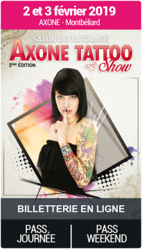 Billetterie - Salon du Tatouage de Montbéliard 2019