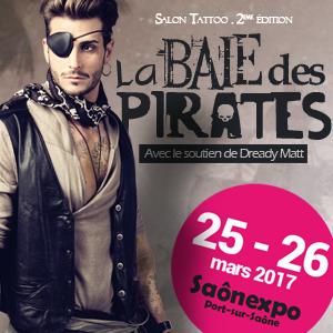 La Baie des pirates 25-26 mars 2017